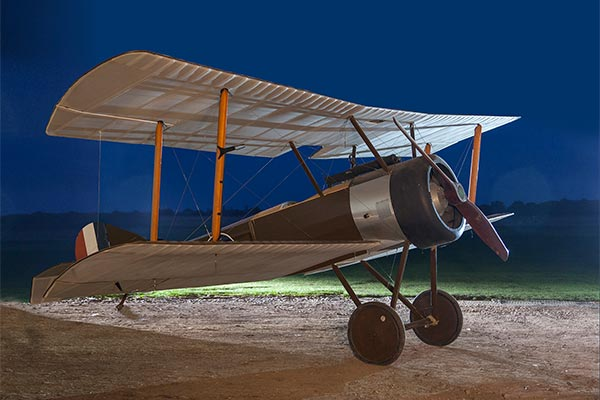 The Sopwith Pup post restoration